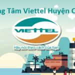Trung Tâm Viettel Huyện củ chi
