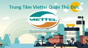Trung Tâm Viettel Quận Thủ Đức
