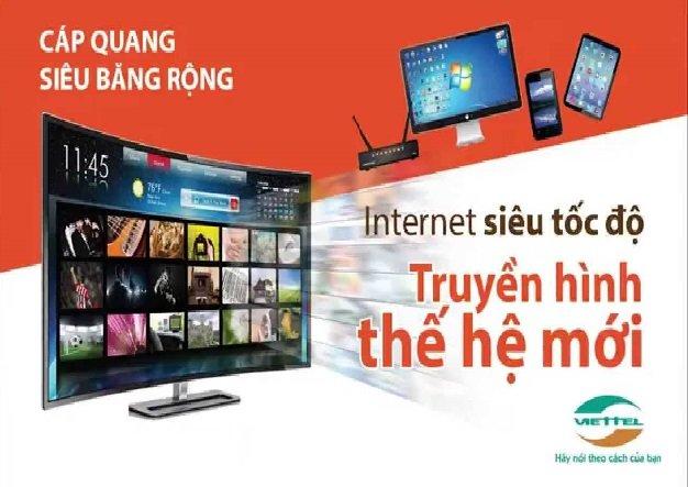dịch vụ internet Và truyền hình viettel