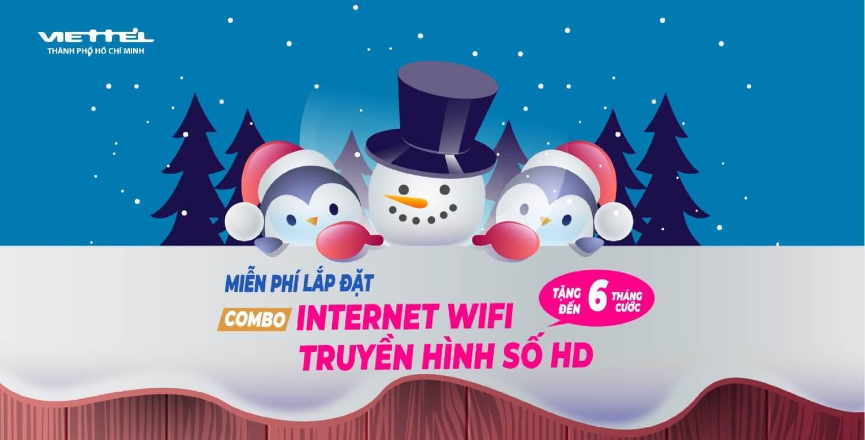 Khuyến mãi lắp đặt internet cáp quang và truyền hình số viettel tháng 12/2018 tại tphcm