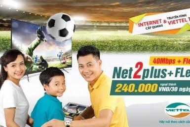 Gói Cước combon net2 plus tại huyện