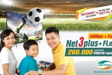 Gói Cước combon net3 plus tại huyện