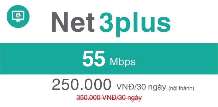 gói cước net3 plus khu vực quận