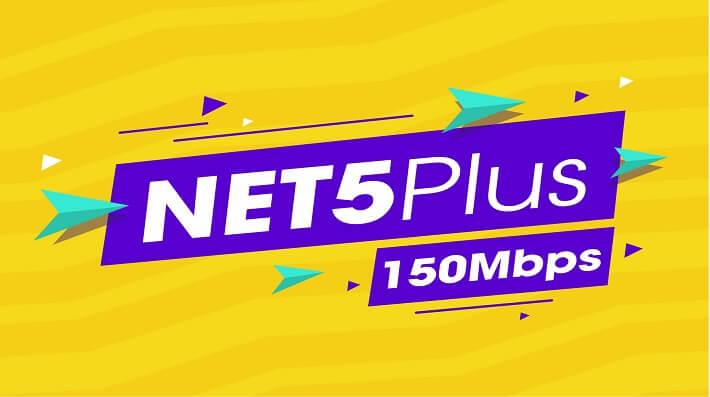 Combo Internet Và Truyền Hình Viettel NET 5 Plus (150Mbps)
