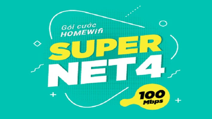 Gói Cước internet Cáp Quang Viettel Super NET4 (Nội Thành)