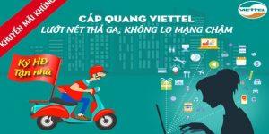 Khuyến Mãi Cáp Quang Và Truyền Hình Viettel Tháng 10/2018